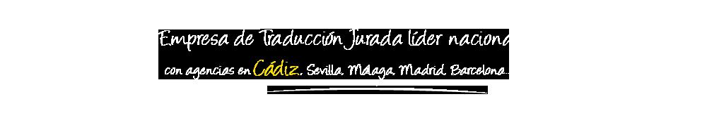 Traductor Jurado Cádiz logo