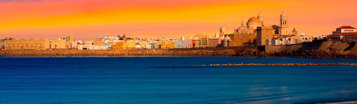 Panorámica de la ciudad de Cádiz